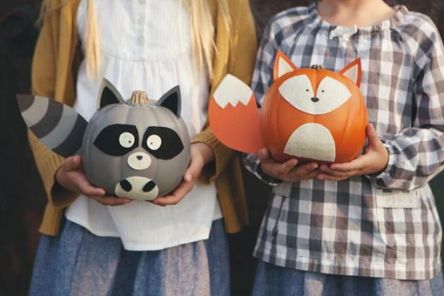 10 idei pentru a decora un dovleac de Halloween