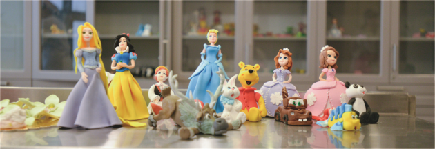 Intră în lumea prințeselor Disney